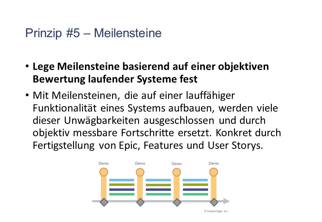SAFe Prinzip 05